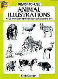 Ready-To-Use Animal Illustrations 161 Different Copyright-Free Designs Printed One Side