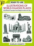 Ready-To-Use Illustrations of World-Famous Places 109 Different Copyright-Free Designs Print...