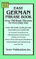Easy German Phrase Book Over 740 Basic Phrases for Everyday Use
