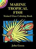 Marine Tropical Fish Stained Glass