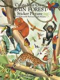 Create Your Own Rain Forest Sticker Picture With 45 Reusable Peel-And Apply Stickers