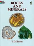 Rocks and Minerals Coloring Book