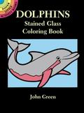 Dolphins Stained Glass