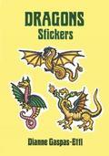 Dragon Stickers 20 Full-Color Pressure-Sensitive Designs