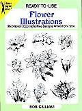 Ready-To-Use Flower Illustrations 96 Different Copyright-Free Designs Printed One Side