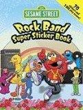 Sesame Street Rock Band Super Sticker Book (English and English Edition)