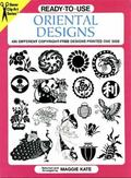 Ready-To-Use Oriental Designs 495 Different Copyright-Free Designs Printed One Side