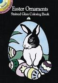 Easter Ornaments Stained Glass Coloring Book