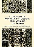 Treasury of Woodcarving Designs from Around the World