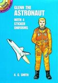 Glenn the Astronaut With 4 Sticker Uniforms