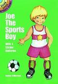 Joe the Sports Boy With 4 Sticker Uniforms