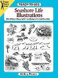 Ready-To-Use Seashore Life Illustrations 205 Different Copyright-Free Designs Printed One Side