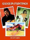 Gauguin Paintings 24 Art Cards
