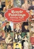 Renoir Paintings Giftwrap Paper