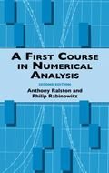 First Course in Numerical Analysis