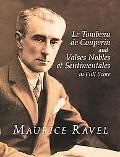 Le Tombeau De Couperin/Valses Nobles Et Sentimentales in Full Score