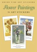 Flower Paintings 16 Art Stickers
