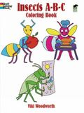 Insects A-b-c Coloring Book