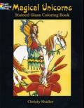 Magical Unicorns Stained Glass Book