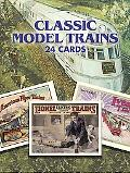 Classic Model Trains 24 Cards