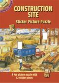 Construction Site Sticker Picture Puzzle