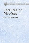 Lectures on Matrices