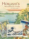 Hokusai's Woodblock Prints 24 Cards