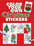 Color Your Own Christmas Stickers