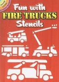 Fun with Fire Trucks Stencils