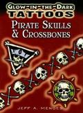Glow-in-the-Dark Tattoos Pirates Skulls & Crossbones