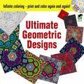 Infinite Coloring Ultimate Geometric Designs Book & CD