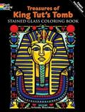 Treasures of King Tut's Tomb Stained Glass Coloring Book