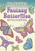 Glitter Fantasy Butterflies Stickers