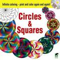 Infinite Coloring Circles and Squares CD and Book
