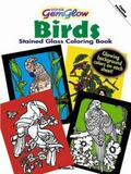Birds GemGlow Stained Glass Coloring Book