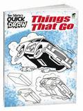 Tony Tallarico's QUICK DRAW Things That Go (Tony Tallarico Quick Draw) (English and English ...