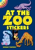 At the Zoo Stickers (English and English Edition)
