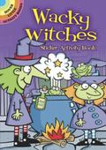 Wacky Witches Sticker Activity Book (English and English Edition)
