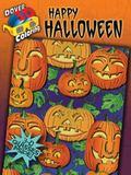 3-D Coloring Book--Happy Halloween