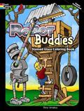 Robot Buddies Stained Glass Coloring Book