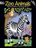 Zoo Animals Stained Glass Coloring Book