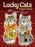 Lucky Cats Paper Dolls : Maneki Neko