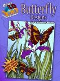 3-D Coloring Book - Butterfly Designs