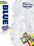 COLORTWIST -- Blue Coloring Book
