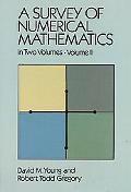 Survey of Numerical Mathematics
