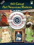 120 Great Art Nouveau Posters Platinum CD-ROM and Book