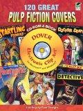 120 Great Pulp Fiction Covers CD-ROM and Book (DVD & Book)