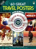 60 Great Travel Posters Platinum DVD and Book (Dover Electronic Clip Art)
