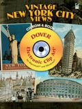 Vintage New York City Views CD-ROM and Book