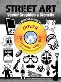 Street Art Vector Graphics & Stencils CD-ROM and Book (CD Rom & Book)
